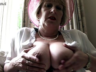 classy mother from london going busty