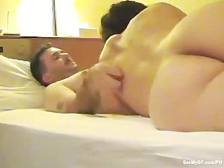 housewife rides and copulates her hubby for the