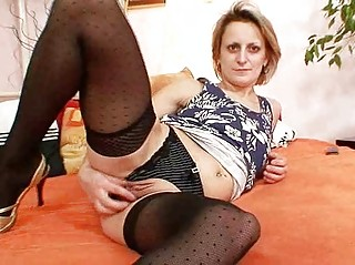 rooty older  woman primary occasion masturbation