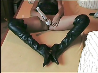 pretty wife with masturbation and handjob