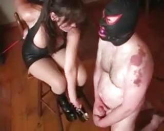 extreme mature babe desperate balls bondage
