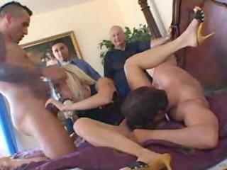 guy lets dudes copulate his woman