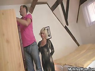 my albino mother in law seduces me inside fuck