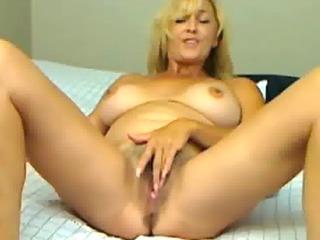 woman spread