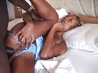 french desperate mature babe - drilling ebony