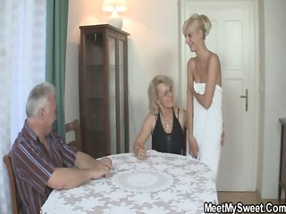 he finds his lady and dad banging his gf