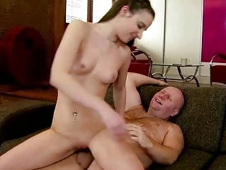 grandpa piercing awesome young babe gorgeous