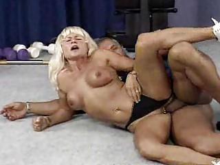cougar bodybuilder needs uneasy  drill