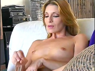 sexy aged mature plays with marital-device