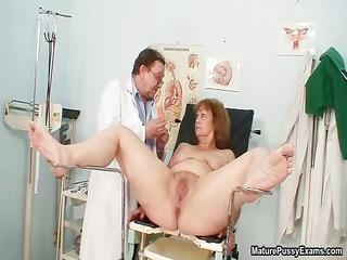 nasty doctor piercing his cougar patient part5