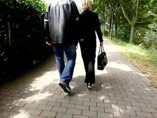 elderly footjob at the beach(no sound)
