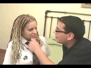 hot desperate latino girl takes a pounding