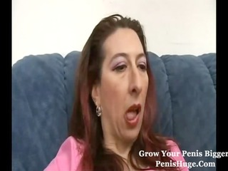 awesome lady hairy kitty bottom fuck dick
