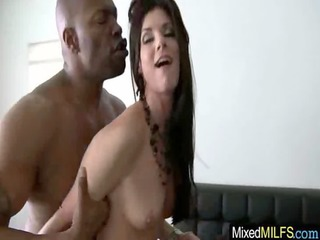 horny mature babe love to drill uneasy brown cock
