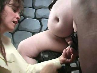 extreme older femdom mature babe bizarre cbt like