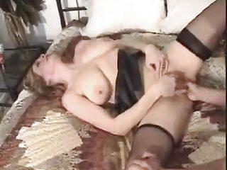 european lady -big gap fingering