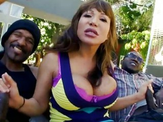huge titty milf is on twofold dong duty