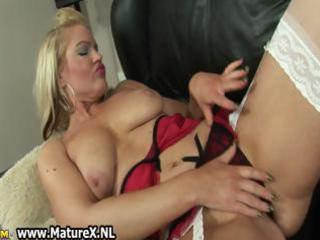 pale cougar woman with giant part4