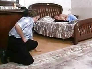 horny russian home lady seduced