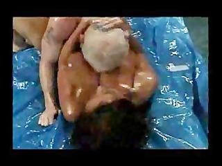 naughty bum wrestling cougar donita dunes