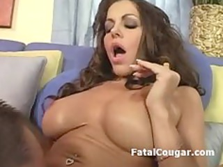 vagina tasted mature wife gives terrific blowjob