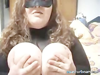 home solo german bbw lady with giant boobs