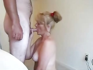 nice lady blow and swallow