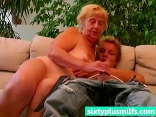 amateur man seduced heavy elderly