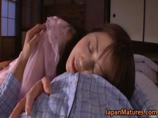 slutty japanese cougar chicks licking part1