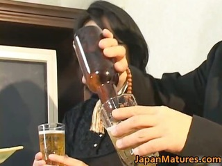 japanese grownup babe has awesome porn