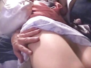 good lover mother and daughter obtain a bus12