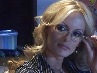 cougar albino professor with great knockers