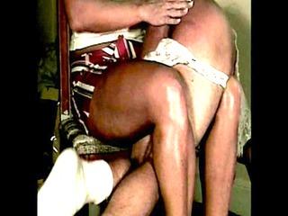sissy spanked in his panties by mommy