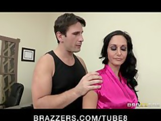 hot slutty executive ava addams massaged and