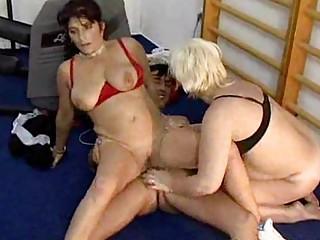older  gym group sex