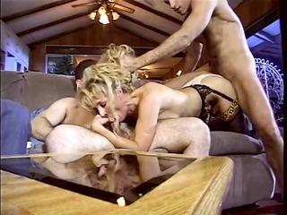 hot slut bends her juicy vagina over and fucked