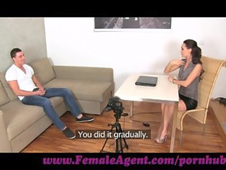 femaleagent. amateur stud horny for labor