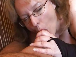 desperate young woman handjob and fellatio with
