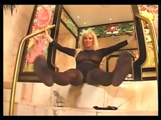 hot mother id like to pierce gives a footjob with