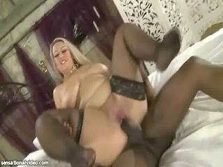 nasty american big boob milf licks giant brown