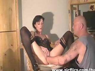 extreme maiden brutally deep fisted in her