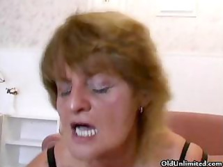 busty grandma loves riding huge amateur part5