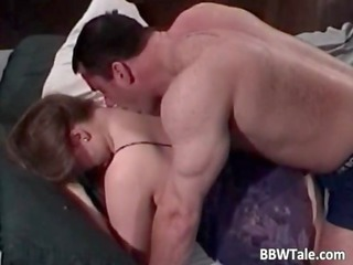 chubby wife cheating her lover