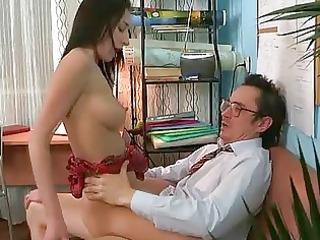fellatio for cougar professor