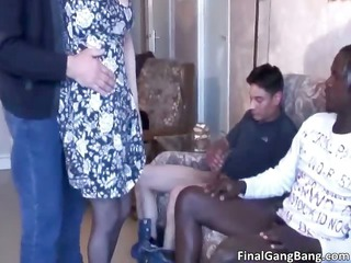 nasty shaggy mature babe whore blows cock part6