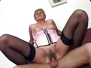 elderly obtains drilled and sperm