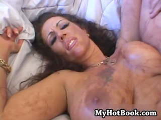 anjelica lauren goes all the gang bang out while