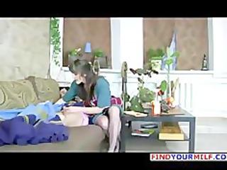 glamorous russian mom nylons obsess