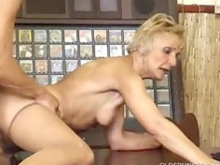 elderly fucked by more juvenile  guy