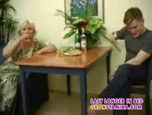 cougar mother and son fuck part1
